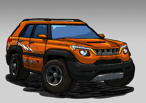 BAIC BJ20 R by ScottaHemi