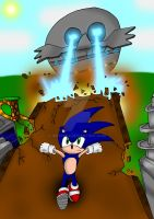 Sonic and The Death Egg by Irishhips