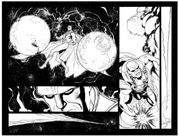 Brightest Day 21 dp spread by MarkIrwin