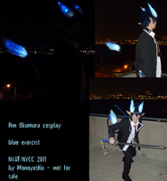 Rin Okumura Demon Form Cosplay by Monoyasha