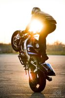Stunt Session with Sun by alexisgoure