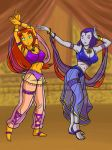 Teen Titans Dancing By Cuttlesquid by AndronicusVII
