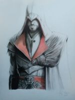 Ezio Auditore by kjlbs