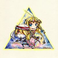 Hyrule Warriors Triforce of Wisdom by LemiaCrescent