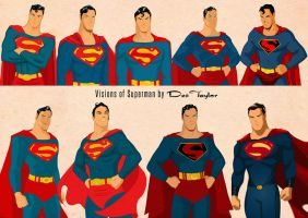 Superman Visions by Des Taylor by DESPOP