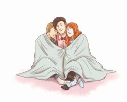 Cuddle Blanket by thatoddowl