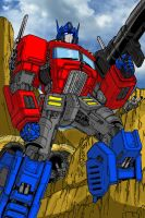 Optimus Prime by ConvoyKaiser