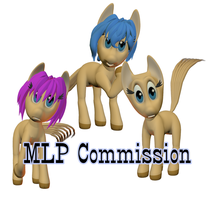 My Little Pony Commission by imago3d