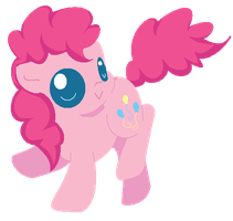 Chibi Pinkie Pie by Blood-Charm