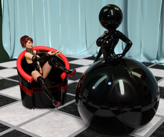 Inflatable Rubber Doll Balled 2 by hphoenix