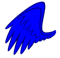 blue wing by Gut2LuvU
