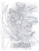 Bleach Cover sketch book by EdwardxWinryrocks