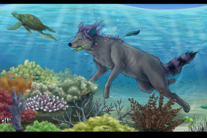Yankee about coral reef by LowerSun