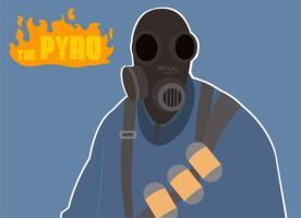 TF2 Pyro Background by MaDTaV44