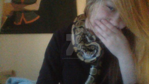 eve my snake is the most cutest baby by scriblepunk