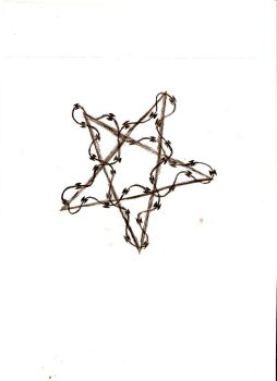 barb wire star by KoinEverhart