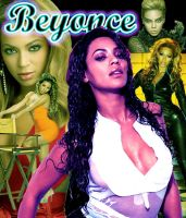 Beyonce Collage by Bladius021