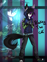 Blakey the cat by gisselle50