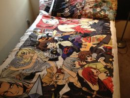 Kingdom Hearts Blanket by Kaytes-Blanket-Sets