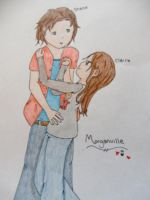 Morganville Claire and Shane by IY20082