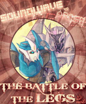 The Battle of the Legs Cover by ZippyLIES