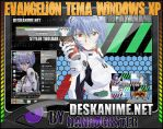 Rei Ayanami Theme Windows XP by Danrockster