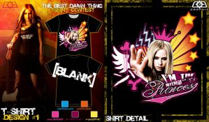 Avril Tshirt contest submit 1 by C0G-Graph1x