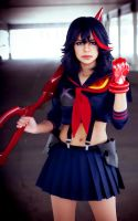 Ryuko Matoi cosplay 2 by TechnoRanma