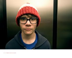 Andy In An Elevator by seenew