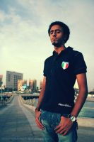 Me in Jeddah Beach by thehonor2