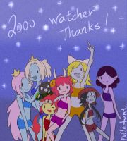 2000 watcher thanks by PvElephant