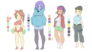 oc color thing by MayzKen