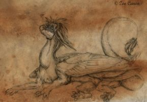 Sketch CM: Zachariah ~Laze~ by EternalDragoness