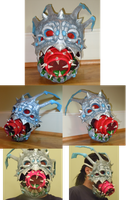 Kog'maw Mask - New Year's Contest Entry by roymbrog