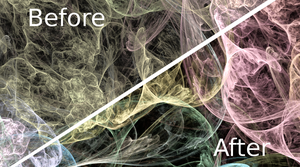 How to Improve Your Apophysis Renders Using GIMP by KiraOnTheNetz