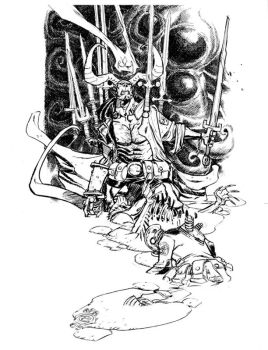 HELLBOY_commission by EricCanete