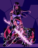 Psylocke NightCrawler Finish by -adam-