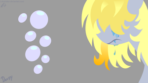 Sad Derpy Wallpaper by l4rsinator