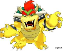 Bowser From Super mario by g-gomez