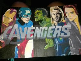 The Avengers by alston123