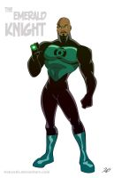 06 - The Emerald Knight by RickCelis
