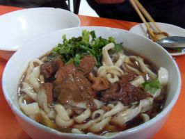 Chinese Beef Noodles by Gexon