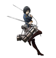 Mikasa Render by lextranges