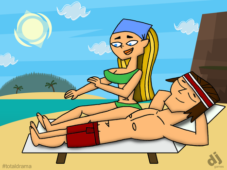 LindsayxTyler at a Beach (Request) by DJgames