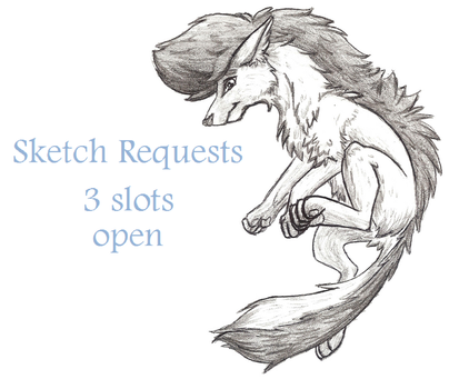 Requests are open! 3 slots by InnocentLittleWolf
