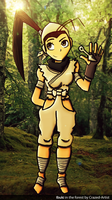 Ibuki in the forest by Crazed-Artist