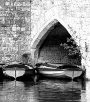 Boats by the Arch by Mark-Allison