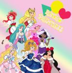 Retro Disney Princesses by TRALLT