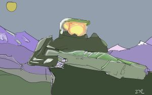 Zyls MasterChief1 by zylbat