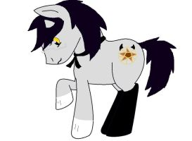 Claude Faustus Pony by PeachyBunn